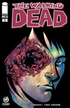 The Walking Dead #1 by Iowa native comic artist Phil Hester