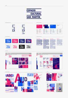 Personal Identity, Visual Identity, Brand Identity Design, Branding Design, Mise En Page Magazine, Design Guidelines, Design Ideas, Brand Manual, San Martin