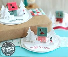 Pop-Up Tags by Betsy Veldman for Papertrey Ink (September 2014)