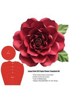 48 Best Large Paper Flower Centerpieces Images Paper Flowers