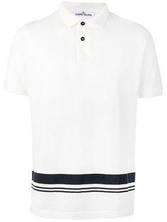 polo à bande contrastante Polo De Marque, Bande, Stone Island, Polos  Designer Hommes 4cd613853e6