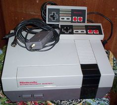 Old school nintendo. I remember my older cousins playing this.