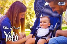 Silla de Paseo Yolo, la favorita entre los padres que necesitan una silla ligera pero con todas las funciones! // Stroller Yolo, the favorite one among parents who need a light Stroller but with all functions!  www.asalvo.com  #asalvo #fabricadoconamor #madewithlove #silla #sillita #silladepaseo #paseo #stroller #strollers #puericultura #puericulture #blue #pic #photography #park #sun #family #familia #happy #feliz #baby #bebe #niños #kids #padres #parents #mama #mom #dad #papa