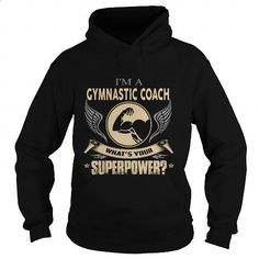 GYMNASTIC COACH - #purple hoodie #work shirt. MORE INFO => https://www.sunfrog.com/LifeStyle/GYMNASTIC-COACH-100116561-Black-Hoodie.html?60505