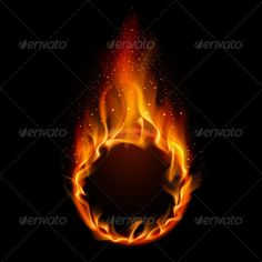 Buy Ring of Fire by Dvarg on GraphicRiver. Ring of Fire. Illustration on Black Background for Design Blur Background In Photoshop, Light Background Images, Photo Background Images, Backdrop Background, Qhd Wallpaper, Black Wallpaper, Border Tattoo, Fire Drawing, Framed Tattoo