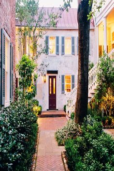 """Zero George Street in Charleston, South Carolina - Zero George - on Top 25 Small Hotels in the U. - """"Exquisite boutique hotel in the heart of historic Charleston"""" Weekend Getaways For Couples, Romantic Weekend Getaways, Couples Vacation, Vacation Spots, Weekend Trips, Vacation Rentals, Romantic Vacations, Charleston Sc Hotels, Charleston South Carolina"""