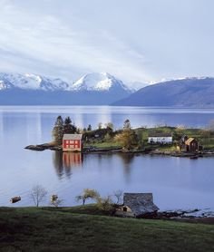 Omaholmen, Norway- I want to go there, as it looks breathtakingly beautiful and peaceful. #omaholmen #norway #travel