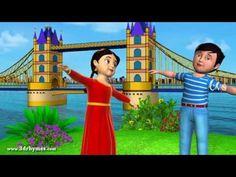London bridge is falling down - 3D Animation English Nursery rhyme for children - YouTube