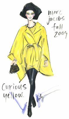 Marc Jacobs Fashion Sketch