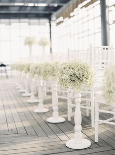 20 Ways to Style Your Aisle - Style Me Pretty