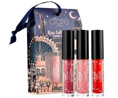 Shop the Best Holiday Beauty Gifts Priced at $25 and Under - Ciate Kiss Collective Mini Liquid Velvet Trio from InStyle.com