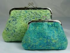felted coin purses