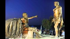 Statue of Alexander the Great & Diogenes in Corinth