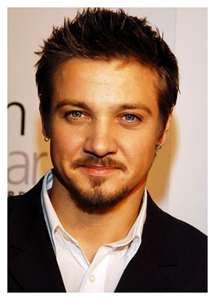 Jeremy Renner - Looks like my son's best buddy Gabe! He's also just recently become one of our favorite new super heroes!