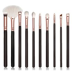 DATEWORK 10Pcs Cosmetic Brush Kits Tool >>> Check out the image by visiting the link. (Note:Amazon affiliate link) #MakeupSets