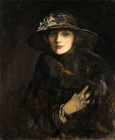 Portrait of Lady Gwendoline Churchill, Sir John Lavery