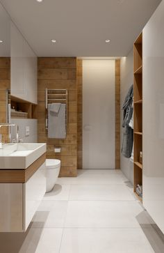 Family apartment in Samara on Behance Home Interior, Modern Interior, Interior Decorating, Interior Design, Bedroom Bed Design, Bedroom Decor, Master Bath Shower, Family Apartment, Organic Modern