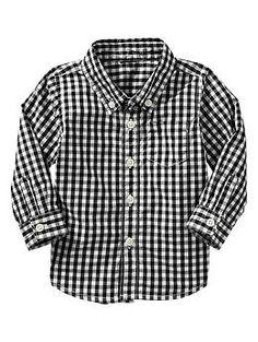 Gingham shirt- size 24 months