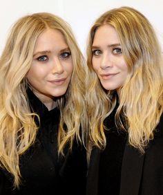 """O segredo do """"cabelo praia"""" das gêmeas Olsen – para copiar em casa!"""