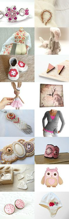 think spring, dream pink by Andi on Etsy--Pinned with TreasuryPin.com