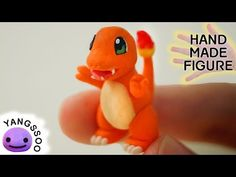 폴리머클레이로 파이리 만들기 [양쑤] Pokemon Charmander Polymer Clay Tutorial - YouTube