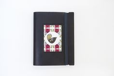 Print Emporium Birds A6 Leather Notebook