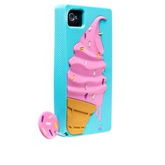 Case-Mate iPhone 4 / 4S Drip Ice Cream Cone Case