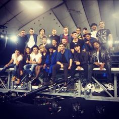 Tokyo we're so excited to see you, we went to the stadium to watch the stage get built. -Taylor Swift-