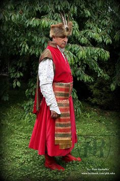 Polish nobelman 18th century in all silks www.facebook.com/pkk.reko