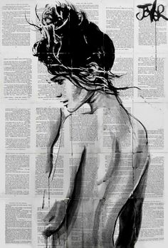 "Saatchi Art Artist Loui Jover; Drawing, ""summer ardour"" #art"