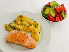 Zdravá výživa - príklad jedla. Risotto, Cantaloupe, Healthy Recipes, Healthy Food, Food And Drink, Chicken, Fruit, Ethnic Recipes, Workout