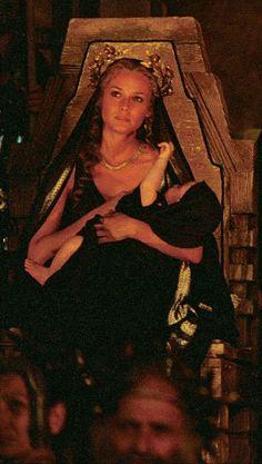 Nerienda and her son