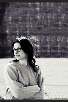Love Alex in OITNB with the dark hair and glasses!