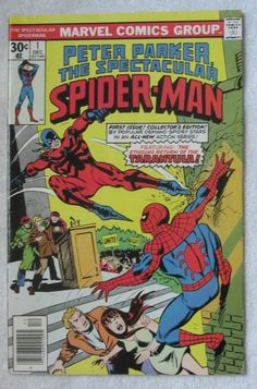 The Spectacular Spider-Man #1 (Dec 1976, Marvel) VG/F 5.0