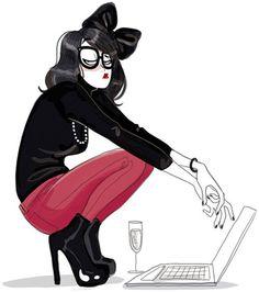Diglee, illustratrice, agence Marie Bastille