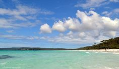 Hyams Beach on the Shores of Jervis Bay NSW