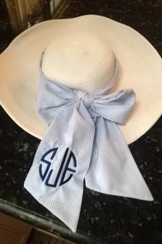 Down South we monogram our stuff,--all of our stuff; jewelry, clothes, silverware, glassware, pillowcases, stationary, license plates, wallets, purses, bibles, cellphones, julip cups and hat ribbons! We have entire businesses devoted to monograming that are thriving. Don't judge us because we like to keep up with our things.