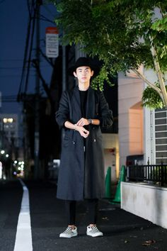 スナップ: 1/8 ストリートスナップ原宿 - 高橋 強さん Vans Style, Style Me, Harajuku, Vans Fashion, Normcore, Menswear, Street Style, How To Wear, People