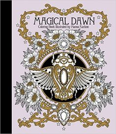 """Magical Dawn Coloring Book: Published in Sweden as """"Magisk Gryning"""" Gsp- Trade: Amazon.de: Hanna Karlzon: Fremdsprachige Bücher"""