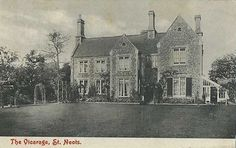 St Neots Vicarage, in Church Street, St Neots in 1910