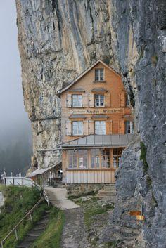 Berggasthaus Aescher-Wildkirchlil (restaurant/inn), Appenzellerland, Switzerland