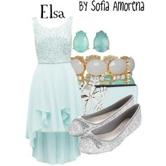 """""""Elsa (Frozen)"""" by sofiaamorena on Polyvore"""