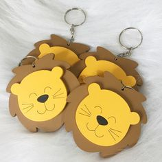 Lion Craft, Foam Crafts, Silhouette Projects, Baby Boy Shower, Cute Drawings, Crafty Fox, Diy Tutorial, Baby Room, Party Favors