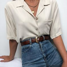 Magical Outfit Ideas Vintage You Will Love outfit ideas vintage, Outfits Retro Outfits, Vintage Outfits, Casual Outfits, Vintage Fashion, Look Fashion, 90s Fashion, Fashion Outfits, Womens Fashion, Fashion Ideas