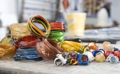 Gaetano Pesce silicone bracelets and rings: lights, unbreakable and beautiful!