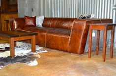 Rustic Meets Genuine Top Grain Leather Aviation Inspired Handcrafted Riveted Aluminum Backing Go Against The
