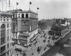 Macy's, Herald Square, New York City, c.1910