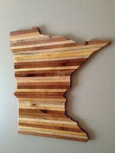 Minnesota wall hanging