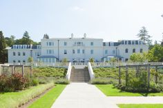 Coworth Park wedding venue lawns
