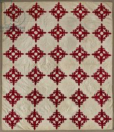 Album Quilt, 1853-65 (cotton)